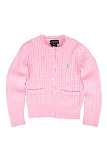 RALPH LAUREN Cable-knit cardigan 2-4 years