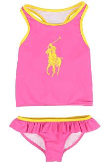 RALPH LAUREN Big Pony tankini 2-4 years