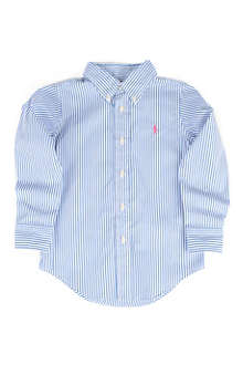 RALPH LAUREN Custom-fit striped shirt 5-7 years
