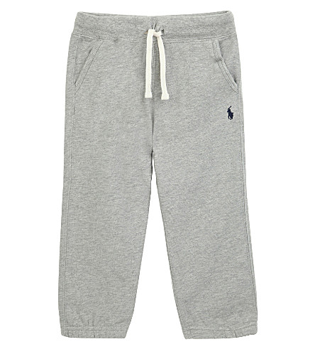 RALPH LAUREN Classic jersey jogging bottoms 2 -4 years (Dark+sport+heat