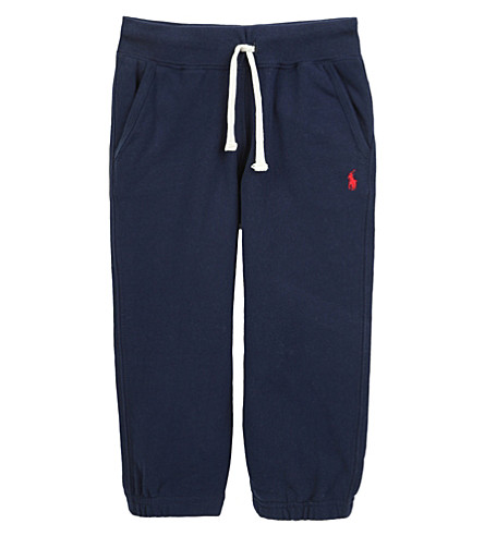 RALPH LAUREN Classic jersey track pants 2 - 4 years (Cruise+navy