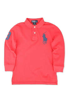 RALPH LAUREN Custom-fit Big Pony polo shirt 2-7 years