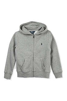 RALPH LAUREN Stretch-jersey hoody 3-4 years