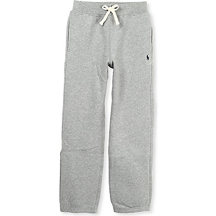 RALPH LAUREN Stretch-jersey jogging bottoms 3-4 years (Grey