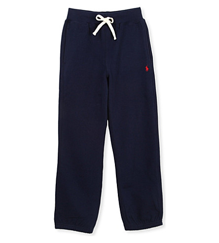 RALPH LAUREN Stretch-jersey jogging bottoms 3-4 years (Navy