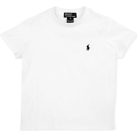 RALPH LAUREN Crew-neck t-shirt 2-4 years (White