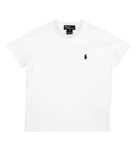 RALPH LAUREN Crew-neck t-shirt 2-4 years (White