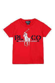 RALPH LAUREN Graphic-print cotton t-shirt 2-4 years