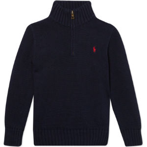 Half zip knitted jumper 2-7 years