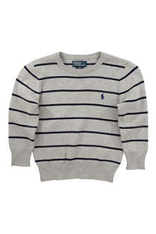 RALPH LAUREN Striped jumper 2-4 years