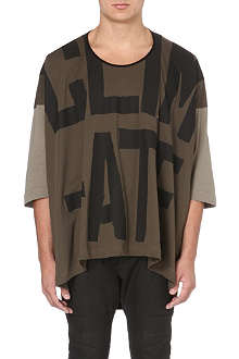 VIVIENNE WESTWOOD Revolution oversized cotton t-shirt
