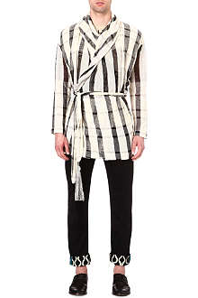 VIVIENNE WESTWOOD Checked wrap-around cardigan