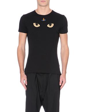 VIVIENNE WESTWOOD Cat Eye cotton-jersey t-shirt