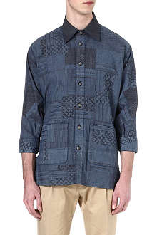 VIVIENNE WESTWOOD Patchwork denim shirt