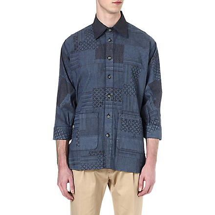 VIVIENNE WESTWOOD Patchwork denim shirt (Denim