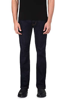 VIVIENNE WESTWOOD Orb-detailed slim-fit straight jeans