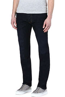 VIVIENNE WESTWOOD Dropped-crotch slim-fit tapered jeans