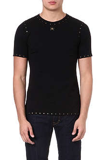 VIVIENNE WESTWOOD Studded skull-detailed t-shirt