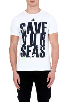 VIVIENNE WESTWOOD Save Our Seas t-shirt