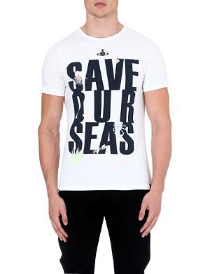VIVIENNE WESTWOOD Save Our Seas t-shirt