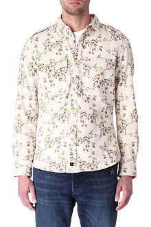 VIVIENNE WESTWOOD Lee floral-print military denim shirt