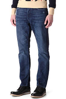 VIVIENNE WESTWOOD Old School low-crotch slim-fit straight jeans