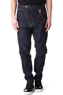 VIVIENNE WESTWOOD Lee drop-crotch loose-fit tapered jeans