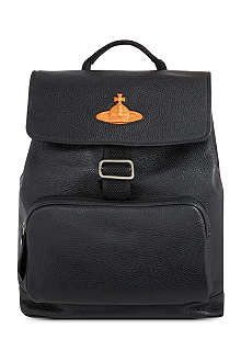 VIVIENNE WESTWOOD Leather backpack