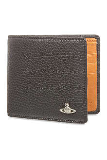 VIVIENNE WESTWOOD Bi-colour leather wallet