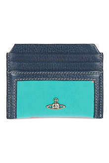 VIVIENNE WESTWOOD Tiger geometric print card holder