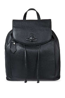 VIVIENNE WESTWOOD Leather orb backpack
