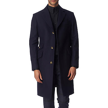VIVIENNE WESTWOOD Three-button tailored coat (Navy