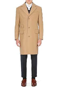 VIVIENNE WESTWOOD Waistcoat-insert melton coat