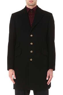VIVIENNE WESTWOOD Classic melton coat
