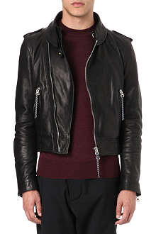 VIVIENNE WESTWOOD Leather biker jacket