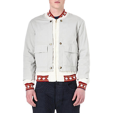 VIVIENNE WESTWOOD Double-layered bomber jacket (Beige