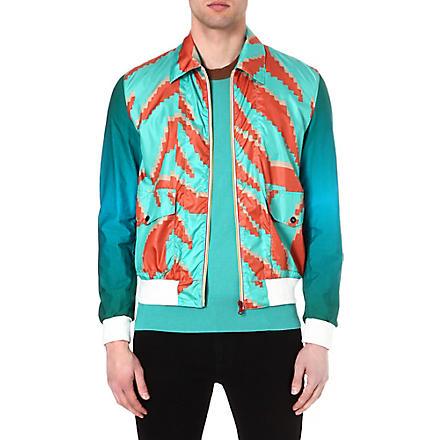 VIVIENNE WESTWOOD Tiger print bomber jacket (Green