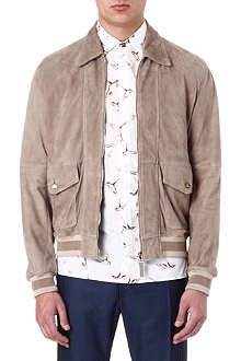 VIVIENNE WESTWOOD Harrington suede jacket