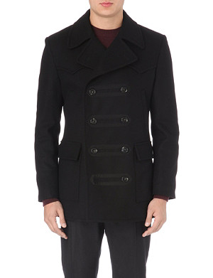 VIVIENNE WESTWOOD Military double-breasted peacoat