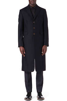 VIVIENNE WESTWOOD Shadow check long front jacket