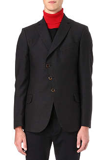 VIVIENNE WESTWOOD Asymmetric wool-blend jacket
