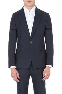 VIVIENNE WESTWOOD Deconstructed wool suit jacket