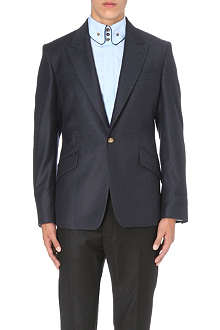 VIVIENNE WESTWOOD Peak-lapel single-breasted suit jacket