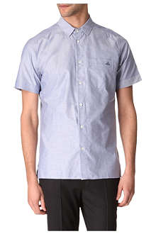 VIVIENNE WESTWOOD Short-sleeved Oxford shirt