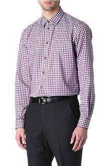 VIVIENNE WESTWOOD Gingham single-cuff shirt