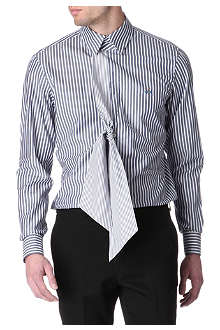 VIVIENNE WESTWOOD Scarf-tie single-cuff shirt