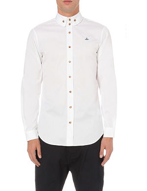 VIVIENNE WESTWOOD Three-button collar single-cuff shirt
