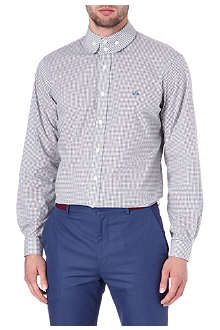 VIVIENNE WESTWOOD Gingham cotton shirt