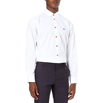 VIVIENNE WESTWOOD Orb slim-fit shirt (White