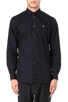 VIVIENNE WESTWOOD Slim-fit poplin shirt